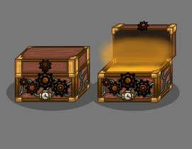 #6 for Need a graphic of a modern steam punk type Trunk/Chest with video game glow upon open view. by raulzmra