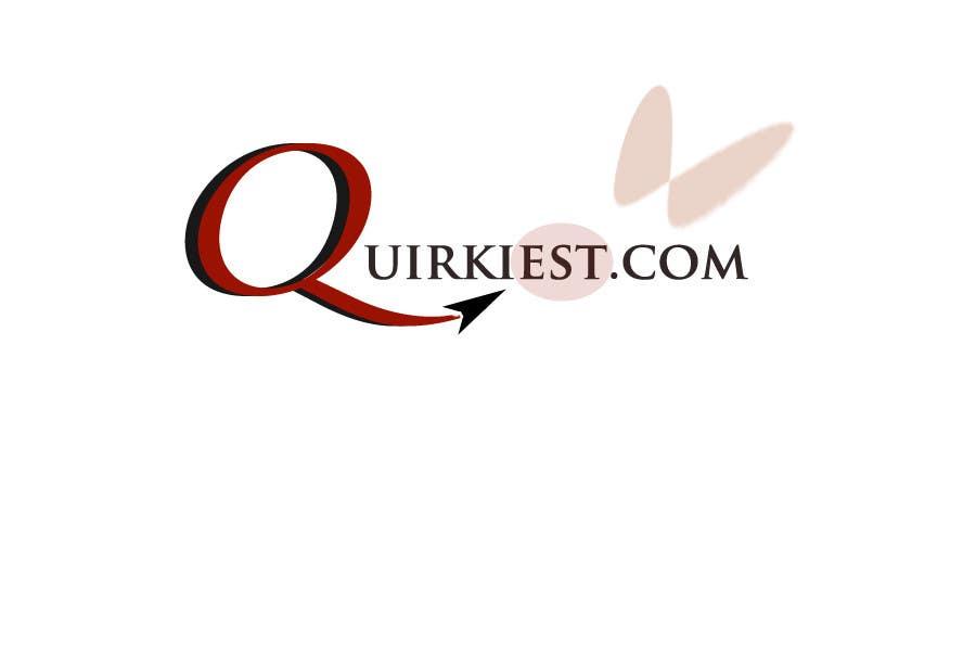 Contest Entry #88 for Logo Design for www.quirkiest.com