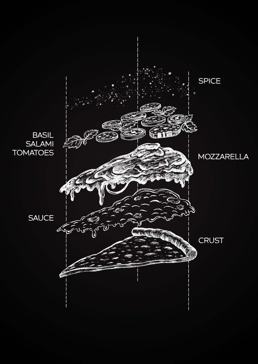 Bài tham dự cuộc thi #38 cho Pizza wallpaper artwork