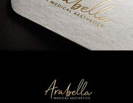 #215 cho Starting new medical aesthetics company. Want an elegant logo. colors primary gold, black, white. Clean look, but fancy and eye catching. Name is Arabella. Will need to have medical aesthetics incorporated. Maby even AraBella bởi lida66