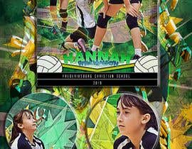 #85 for Volleyball Sports Poster by reyesonline