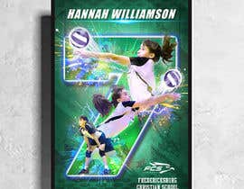 #75 for Volleyball Sports Poster by johnian123