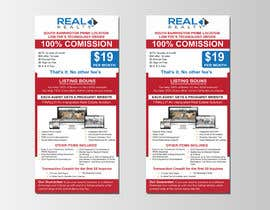 nº 105 pour Custom Flyer for Recruiting Real Estate Agents par mfarazi