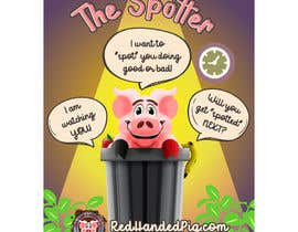 """mirandalengo tarafından Enhance our Marketing Poster for our Red-Handed Pig product called """"THE SPOTTER"""" için no 32"""
