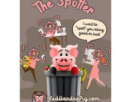 """mirandalengo tarafından Enhance our Marketing Poster for our Red-Handed Pig product called """"THE SPOTTER"""" için no 34"""