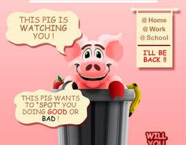 "#24 cho Enhance our Marketing Poster for our Red-Handed Pig product called ""THE SPOTTER"" bởi BrochaVLJ"