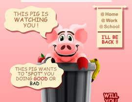 "BrochaVLJ tarafından Enhance our Marketing Poster for our Red-Handed Pig product called ""THE SPOTTER"" için no 24"
