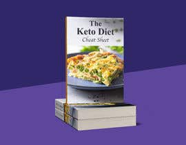 """#54 for create ebook cover design called """"The Keto Diet Cheat Sheet"""" by Zilanj"""