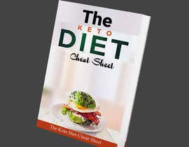"""#56 for create ebook cover design called """"The Keto Diet Cheat Sheet"""" by Zilanj"""