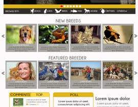 #33 pentru Design a Website Mockup for BYP de către moiraleigh19