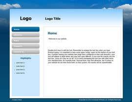 #12 untuk Mafia Game website homepage design oleh dollshell22