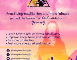 #39 for A4 poster for Meditation af imarinaazer