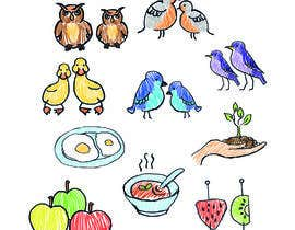 #6 for kindergarten web site icon illustrations by Tanya980