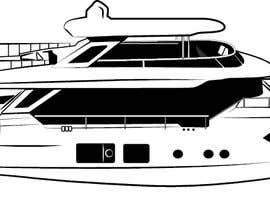 #255 para Simple boat line art logo por letindorko2