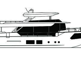 #264 para Simple boat line art logo por phelanjackson