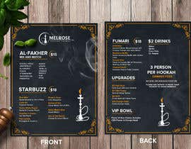 Pictorialtech tarafından Build Menu for Hookah Lounge için no 10