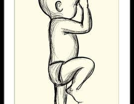#100 for Illustration of a baby silhouette (simplified) by artkrishna