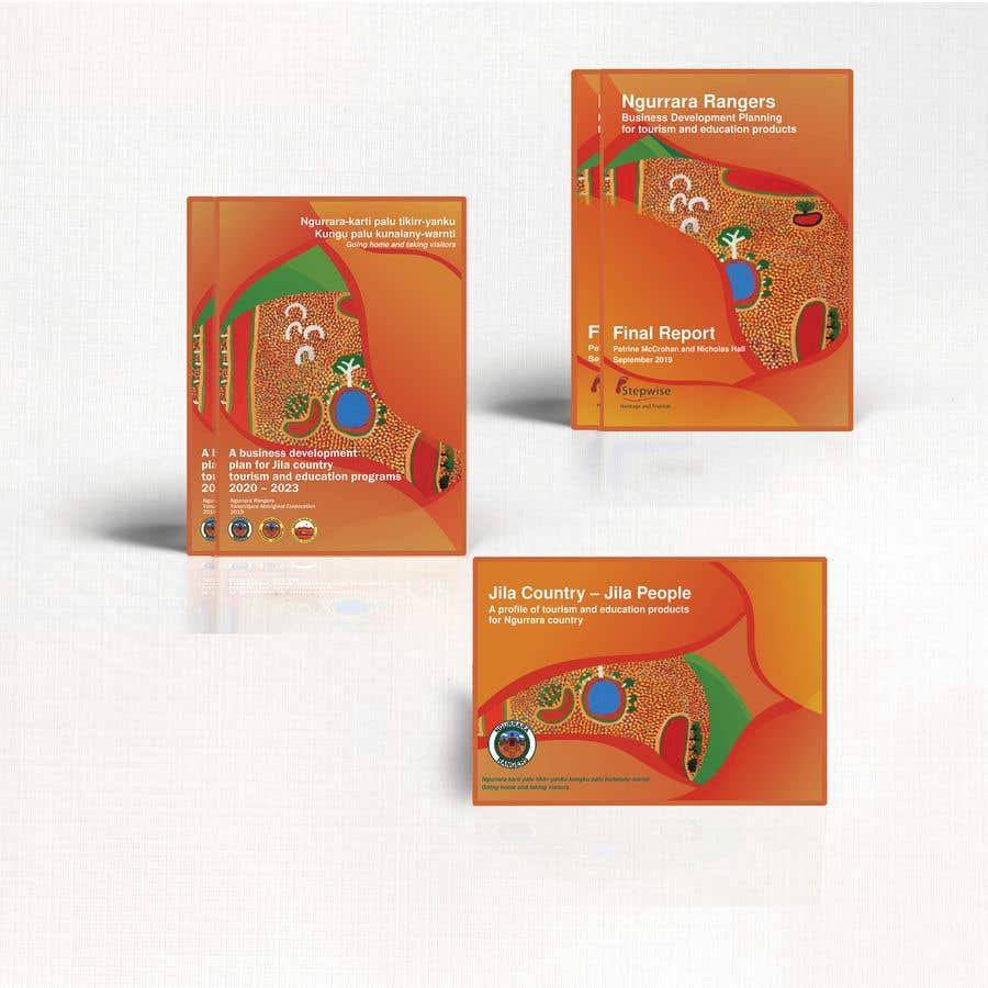 Bài tham dự cuộc thi #18 cho Ngurrara Rangers project reports cover design