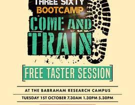 #30 cho design poster/flyer for outdoor fitness bootcamp bởi QasimAs