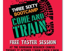 #66 cho design poster/flyer for outdoor fitness bootcamp bởi irfananis07