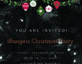 #39 cho Create an Invitation to the Corporate Christmas Party bởi rizqimayang22