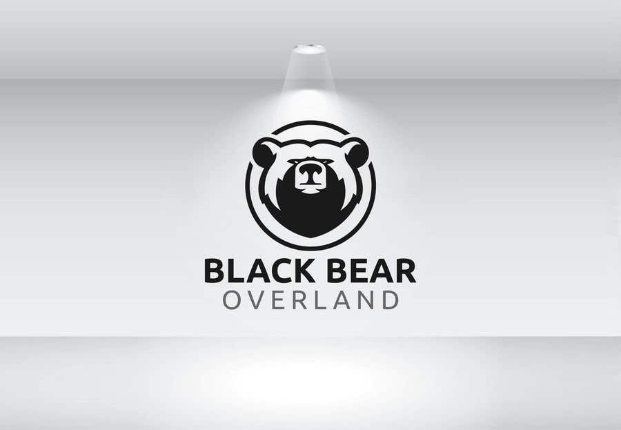 "Kilpailutyö #24 kilpailussa I would like a logo designed to showcase my company name which will be "" black bear overland"" I'm looking for the outline of a black bear inset in a semi circle( globe) or something similar, but I'm not limited to that design."