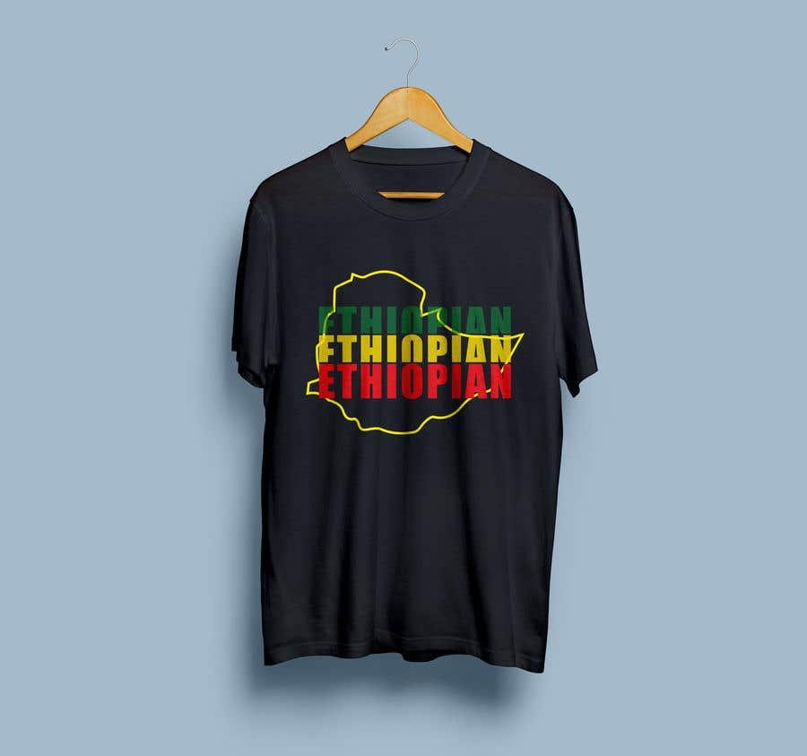 Konkurrenceindlæg #136 for Design an Ethiopian or Eritrean T-shirt
