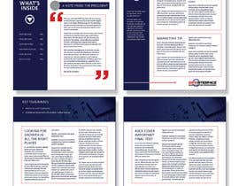 #4 for Change a newsletter template from a paper-based spread to single-page layout af niamelia
