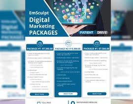 #4 untuk Flyer Design - Digital Marketing Package Comparison oleh Uttamkumar01