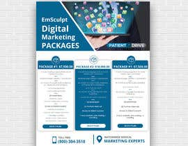 #5 untuk Flyer Design - Digital Marketing Package Comparison oleh Uttamkumar01