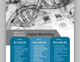 #23 for Flyer Design - Digital Marketing Package Comparison by tanjabvw