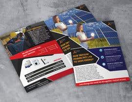 dsprincesof tarafından Design a A5 Leaflet Full Colour 4 Sides for Solar Energy company için no 7
