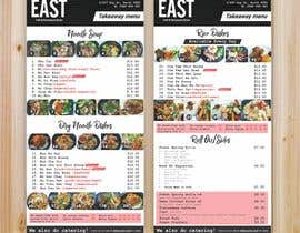#22 untuk Create a B4 takeaway flyer from my menu provided oleh ridwantjandra