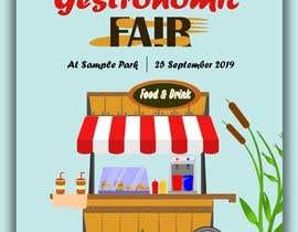 Nro 6 kilpailuun Gastronomic Fair poster design käyttäjältä DooodleDesign