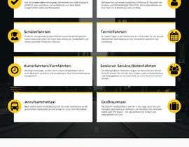 hstiwana51 tarafından Design Taxi Website Mockup için no 46