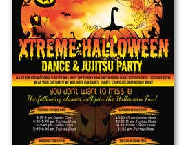 #39 for Halloween Party Flier af irfananis07