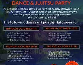 #32 for Halloween Party Flier af amasuma412