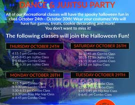 #34 for Halloween Party Flier by amasuma412