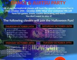 #34 for Halloween Party Flier af amasuma412