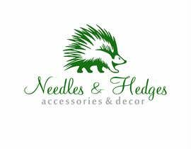 #26 for Need a new logo for Needles & Hedges, Accessories and Decor by ali8271