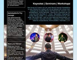 tjeba00 tarafından Design a speaker one-sheet/pamphlet için no 37