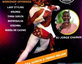 Nro 50 kilpailuun flyer design for a dance workshop event käyttäjältä EktaSachala1
