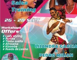 Nro 44 kilpailuun flyer design for a dance workshop event käyttäjältä KirubaNadarajan