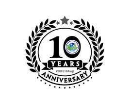 #91 untuk 10th Anniversary Logo oleh MMS22232