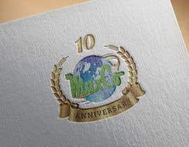 #38 untuk 10th Anniversary Logo oleh khanrasif2609