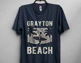 oaeskuruni27 tarafından Create coastal/nautical/vintage souvenir beach t-shirt style design for use on t-shirt and logo for website için no 29