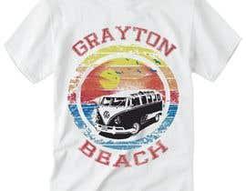 AbdullahPalash tarafından Create coastal/nautical/vintage souvenir beach t-shirt style design for use on t-shirt and logo for website için no 56