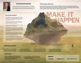 #106 pentru Graphic design for Executive Bio and Resume de către GabrielGoistais