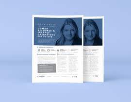 #147 pentru Graphic design for Executive Bio and Resume de către parthashyam