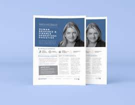 #200 pentru Graphic design for Executive Bio and Resume de către parthashyam